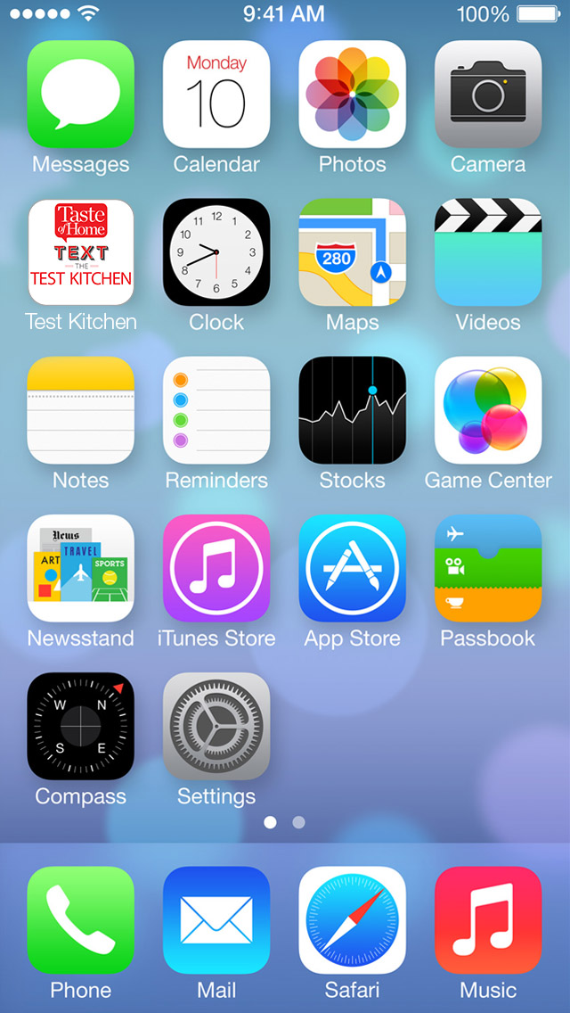 7 ICON IPHONE